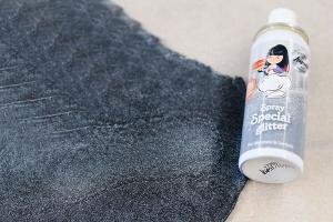 Glanz-Perlmutt-Farbspray silberfarben 50 ml