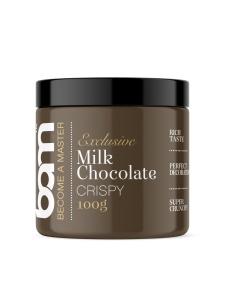 Schokokugeln Crispy, Milchschokolade, 100 g