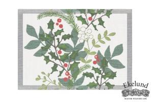 Tischset, Mistelzweig, 100 % Bio Baumwolle 35x48 cm