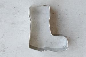 Ausstecher Stiefel, Edelstahl, 6 cm