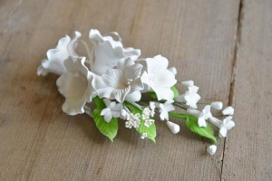 Zucker-Lilien weiß, 21 cm