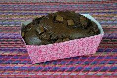Mini-Kasten-Papierbackförmchen rosa/pink, 4 Stück,