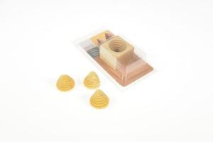 Holzmodel Bienenkörbchen für Likörspitzen/ Tannenbäumchen