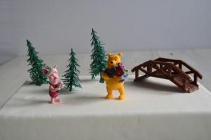 Winnie the Pooh-Set für Thementorten