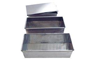 Chromstahl-Deckel zur 25 cm Vollkorn-Backform