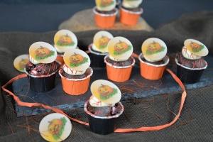 500g Schoko-Muffin+200g IcingVanille+Halloween Oblaten
