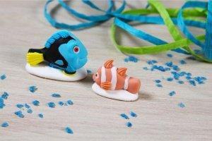 Findet Dorie  -Dorie und Nemo- , Zucker, 4cm+3cm