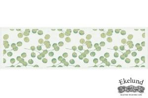 Tischläufer, Eukalyptus, 100 % Bio Baumwolle, 35x120 cm