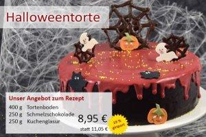 Tortenboden + Schmelzschokolade rot + Kuchenglasur