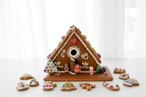 Backset Weihnachten Lebkuchen: Lebkuchenhaus und Ausstecher