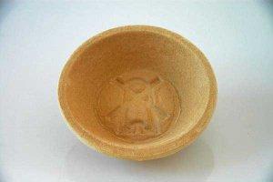 Gärkorb rund aus Holzschliff für Brote bis 1000 g, Ø 22 cm