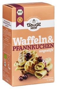 Glutenfreie Mischung für Waffeln & Pfannkuchen, Bio, 200 g