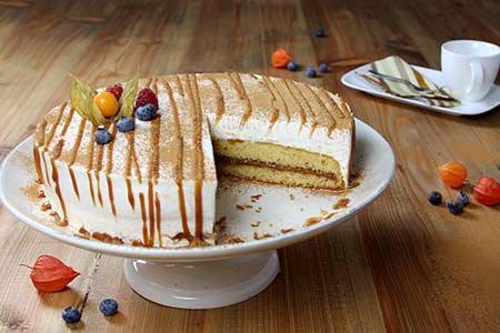 Bratapfel-Butterkaramell-Torte