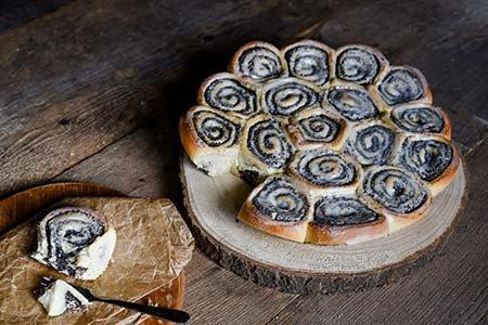 Mohnschnecken-Kuchen