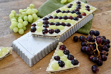 Trauben-Mohn-Tarte