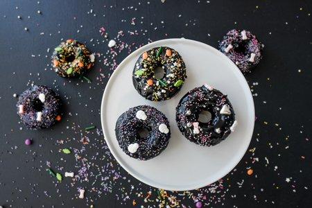 Vegane Donuts Halloween