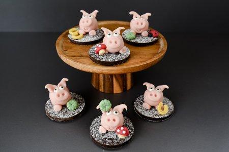 Marzipan Schweinchen