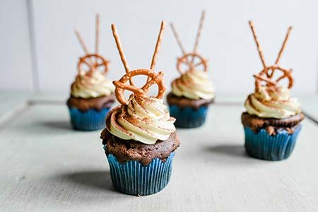 Oktoberfest-Cupcakes
