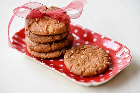 Saftige Nuss-Cookies