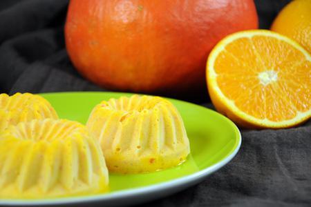 Kürbis-Orangen-Eis