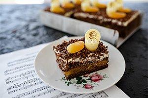 Beethoven Aprikosen-Schnitte