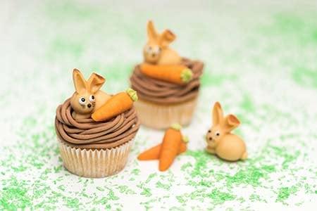 Ostercupcakes Hase
