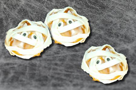 Halloween-Marzipan-Mumien