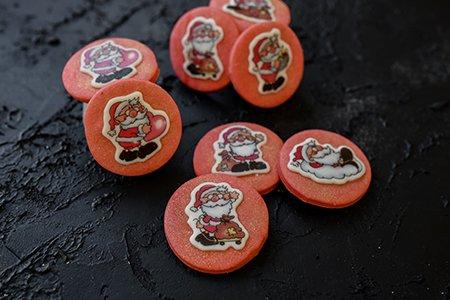 Weihnachtsmann Kekse