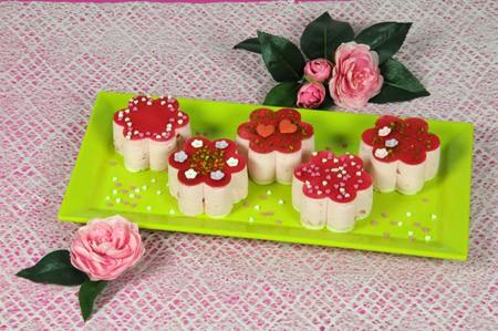 Erdbeer-Muttertagstörtchen