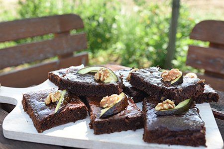 Avocado-Brownie