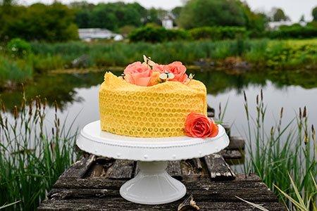 Fruchtige Bienentorte