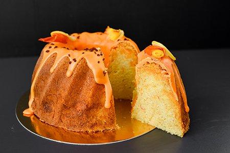 Kürbis Gugelhupf mit Orangengeschmack