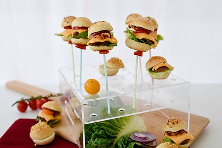 Mini CakePop Burger