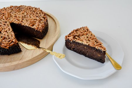 Glutenfreier Mandel Orangen Schoko Kuchen