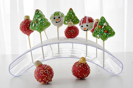 Winter Cake Pops