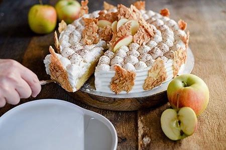 Zimtapfel-Torte