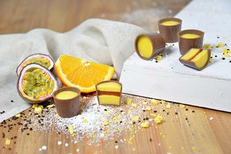 Fruchtige Desserttöpchen