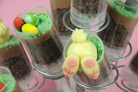 Push Up Cake Pops mit Osterhase