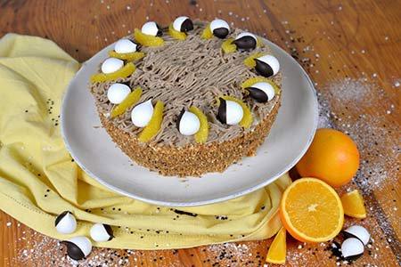 Vermicelles-Torte