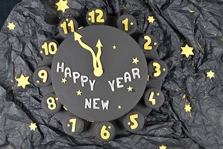 Silvester Uhr