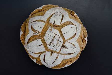 Bread Scoring Musterbrot Nr. 2