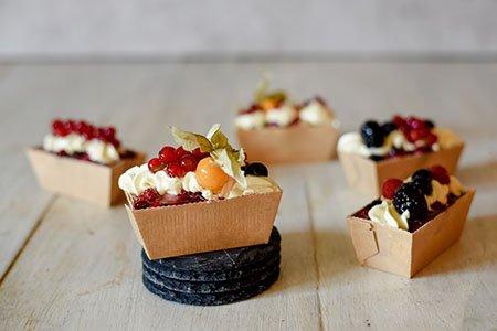 Fruchtige Mini-Quark-Kuchen