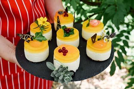 Mandarinen-Törtchen