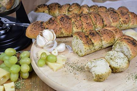 Kräuter-Zupfbaguette