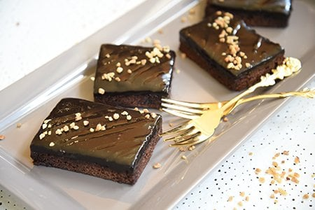Ingwer-Brownies