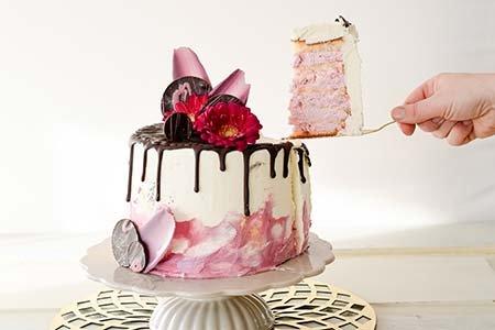 Drip Cake rosé