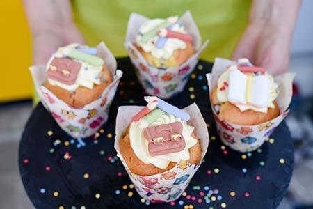 Muffins zum Schulanfang