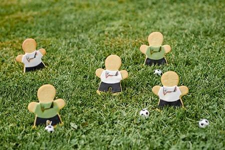 Fußballmännchen