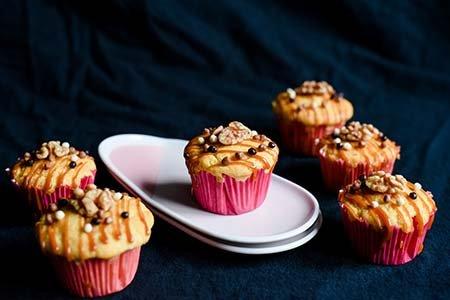 Honig-Mais-Muffins