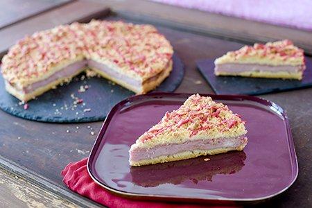 Granatapfel-Streusel-Kuchen